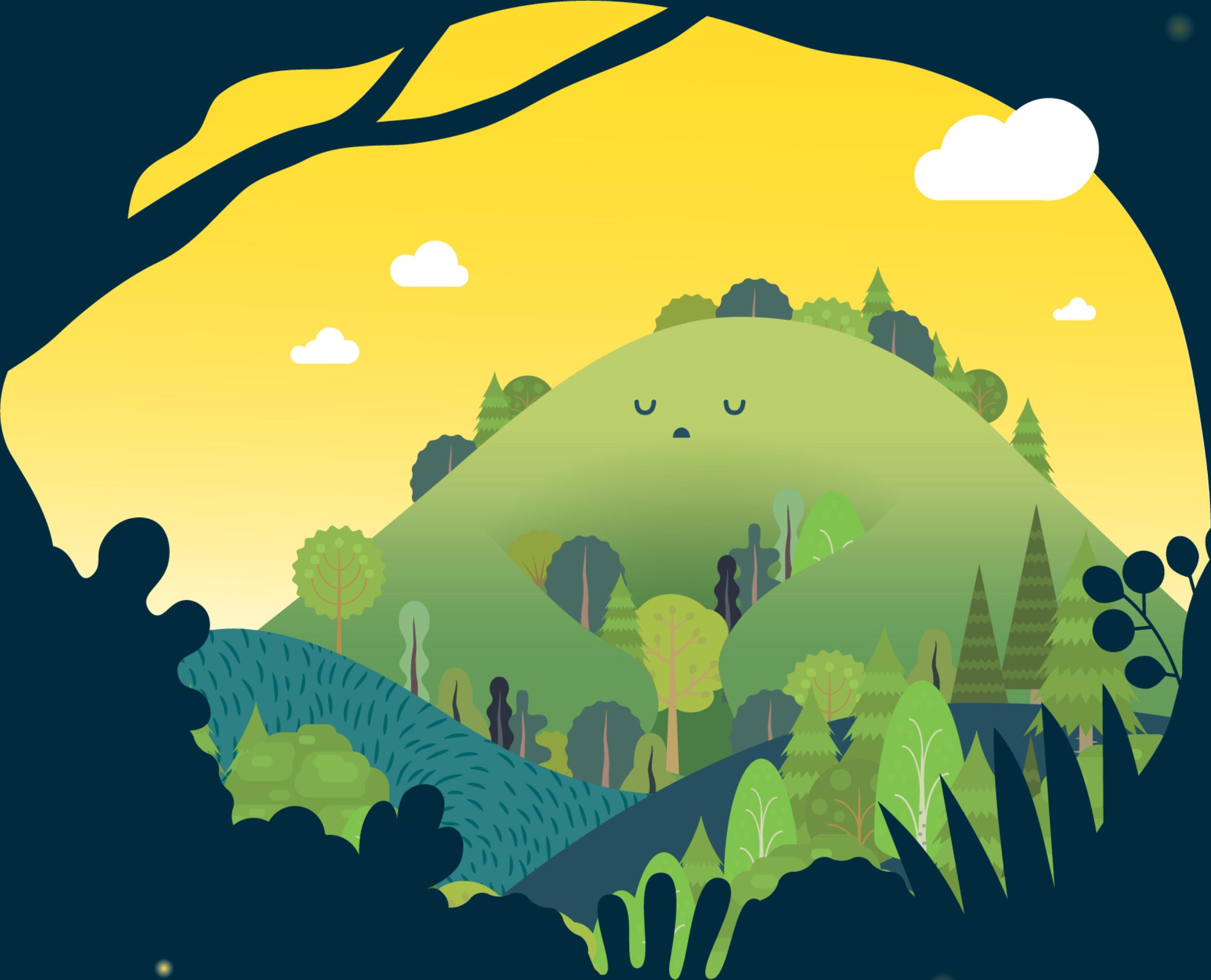거멍숲과 수호신 올름